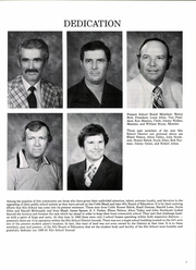 Page 11, 1981 Edition, Silo High School - Rebel Yearbook (Durant, OK) online yearbook collection