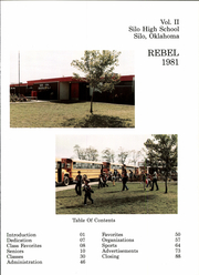 Page 5, 1981 Edition, Silo High School - Rebel Yearbook (Durant, OK) online yearbook collection