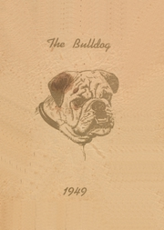1949 Edition, Cement High School - Bulldog Yearbook (Cement, OK)