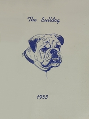 1953 Edition, Cement High School - Bulldog Yearbook (Cement, OK)