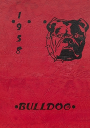 1958 Edition, Cement High School - Bulldog Yearbook (Cement, OK)