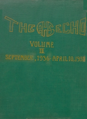 1937 Edition, Achille High School - Echo Yearbook (Achille, OK)