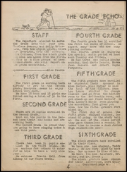 Page 8, 1940 Edition, Achille High School - Echo Yearbook (Achille, OK) online yearbook collection