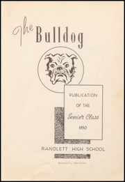 Page 7, 1950 Edition, Big Pasture High School - Ranger Yearbook (Randlett, OK) online yearbook collection