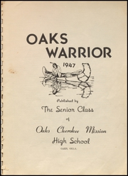 Page 5, 1947 Edition, Oaks Mission High School - Warrior Yearbook (Oaks, OK) online yearbook collection