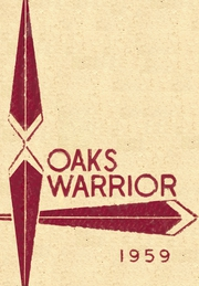 Page 1, 1959 Edition, Oaks Mission High School - Warrior Yearbook (Oaks, OK) online yearbook collection