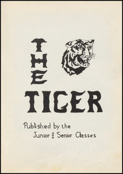 Page 5, 1960 Edition, Tupelo High School - Tiger Yearbook (Tupelo, OK) online yearbook collection