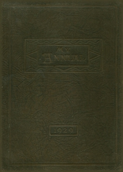 1929 Edition, Roff High School - Tiger Yearbook (Roff, OK)
