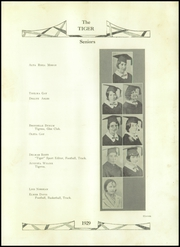 Page 13, 1929 Edition, Roff High School - Tiger Yearbook (Roff, OK) online yearbook collection