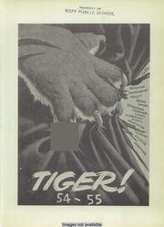 Page 5, 1955 Edition, Roff High School - Tiger Yearbook (Roff, OK) online yearbook collection