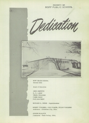 Page 7, 1955 Edition, Roff High School - Tiger Yearbook (Roff, OK) online yearbook collection