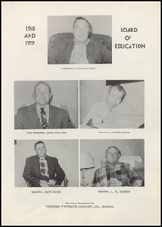 Page 11, 1959 Edition, Roff High School - Tiger Yearbook (Roff, OK) online yearbook collection