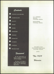 Page 6, 1959 Edition, Chattanooga Central High School - Warrior Yearbook (Chattanooga, OK) online yearbook collection