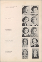 Page 17, 1950 Edition, Thackerville High School - Wildcats Yearbook (Thackerville, OK) online yearbook collection