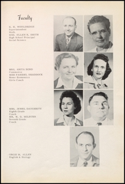 Page 9, 1950 Edition, Thackerville High School - Wildcats Yearbook (Thackerville, OK) online yearbook collection