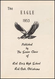 Page 7, 1953 Edition, Red Oak High School - Eagle Yearbook (Red Oak, OK) online yearbook collection