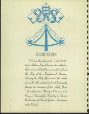 Page 6, 1950 Edition, Monte Cassino School - Pax Yearbook (Tulsa, OK) online yearbook collection