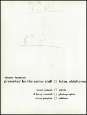 Page 6, 1960 Edition, Monte Cassino School - Pax Yearbook (Tulsa, OK) online yearbook collection