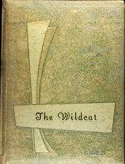 1959 Edition, Arnett High School - Wildcat Yearbook (Arnett, OK)