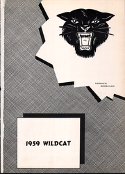 Page 5, 1959 Edition, Arnett High School - Wildcat Yearbook (Arnett, OK) online yearbook collection