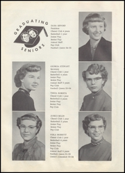 Page 12, 1955 Edition, Keyes High School - Pirate Yearbook (Keyes, OK) online yearbook collection