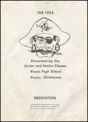 Page 5, 1955 Edition, Keyes High School - Pirate Yearbook (Keyes, OK) online yearbook collection