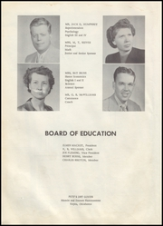 Page 8, 1955 Edition, Keyes High School - Pirate Yearbook (Keyes, OK) online yearbook collection