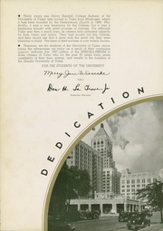 Page 10, 1937 Edition, University of Tulsa - Kendallabrum (Tulsa, OK) online yearbook collection