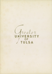 Page 12, 1937 Edition, University of Tulsa - Kendallabrum (Tulsa, OK) online yearbook collection