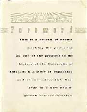 Page 11, 1947 Edition, University of Tulsa - Kendallabrum (Tulsa, OK) online yearbook collection