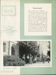 Page 9, 1953 Edition, University of Tulsa - Kendallabrum (Tulsa, OK) online yearbook collection