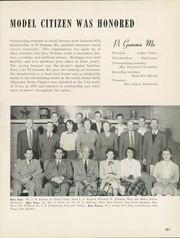 Page 185, 1954 Edition, University of Tulsa - Kendallabrum (Tulsa, OK) online yearbook collection