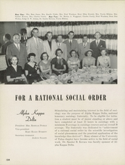 Page 188, 1954 Edition, University of Tulsa - Kendallabrum (Tulsa, OK) online yearbook collection
