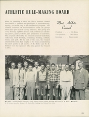 Page 195, 1954 Edition, University of Tulsa - Kendallabrum (Tulsa, OK) online yearbook collection