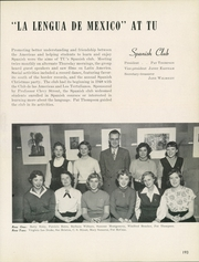 Page 197, 1954 Edition, University of Tulsa - Kendallabrum (Tulsa, OK) online yearbook collection