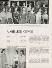 Page 214, 1957 Edition, University of Tulsa - Kendallabrum (Tulsa, OK) online yearbook collection
