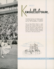 Page 7, 1957 Edition, University of Tulsa - Kendallabrum (Tulsa, OK) online yearbook collection