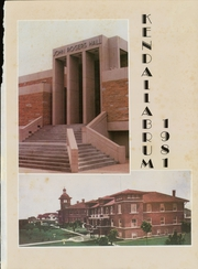 Page 5, 1981 Edition, University of Tulsa - Kendallabrum (Tulsa, OK) online yearbook collection