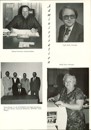 Page 7, 1982 Edition, Bluejacket High School - Chieftain Yearbook (Bluejacket, OK) online yearbook collection