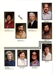 Page 8, 1982 Edition, Bluejacket High School - Chieftain Yearbook (Bluejacket, OK) online yearbook collection