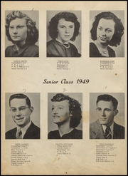 Page 12, 1949 Edition, Panola High School - Bearcat Yearbook (Panola, OK) online yearbook collection