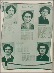 Page 16, 1953 Edition, Panola High School - Bearcat Yearbook (Panola, OK) online yearbook collection