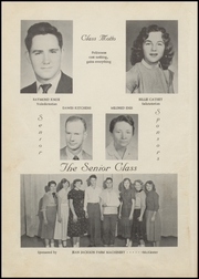 Page 12, 1956 Edition, Panola High School - Bearcat Yearbook (Panola, OK) online yearbook collection