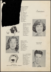Page 13, 1956 Edition, Panola High School - Bearcat Yearbook (Panola, OK) online yearbook collection