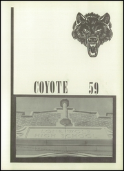 Page 5, 1959 Edition, Lone Wolf High School - Coyote Yearbook (Lone Wolf, OK) online yearbook collection