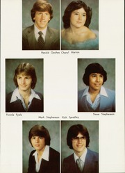 Page 15, 1981 Edition, Schulter High School - Bulldog Yearbook (Schulter, OK) online yearbook collection