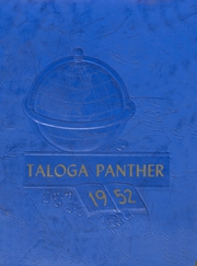 Taloga High School - Panther Yearbook (Taloga, OK) online yearbook collection, 1952 Edition, Page 1