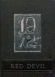 1972 Edition, Lamont High School - Red Devil Yearbook (Lamont, OK)