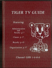 1986 Edition, Gage High School - Tiger Yearbook (Gage, OK)