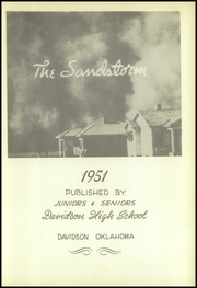 Page 7, 1951 Edition, Davidson High School - Sandstorm Yearbook (Davidson, OK) online yearbook collection